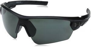 4f892a507f Buy under armour ua captain sunglasses shiny black frame brown ...