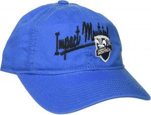 adidas MLS Montreal Impact Women s Adjustable Slouch Hat with Script Logo e97cf8bc9381