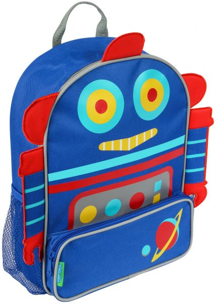 Stephen Joseph Sidekick Backpack, Robot |