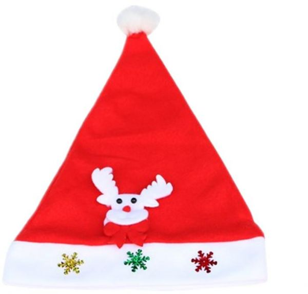 5e422e78e8da2 Christmas Hat Children Santa Claus Reindeer Snowman Xmas Party Cute Cap  wedding home decoration Gift
