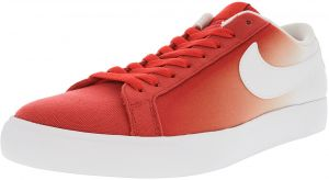 new style 7d956 8e89c Nike Men s Sb Blazer Vapor Track Red   White ankle-High Canvas  Skateboarding Shoe - 9.5M