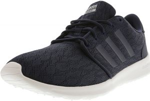 quality design 5f12d 13eb0 Adidas Womens Cloudfoam Qt Racer Collegiate Navy  Footwear White  Ankle-High Running Shoe - 9.5M