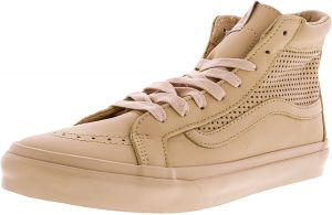 Vans Sk8-Hi Slim Cutout Square Perf Amberlight High-Top Leather Skateboarding  Shoe - 11M   9.5M f9e867c07