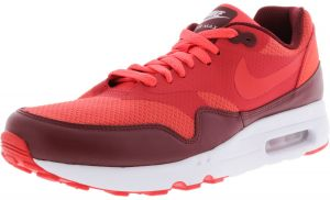 reputable site a0706 2d988 Nike Men s Air Max 1 Ultra 2.0 Essential Track Red   - Team Ankle-High Running  Shoe 9M