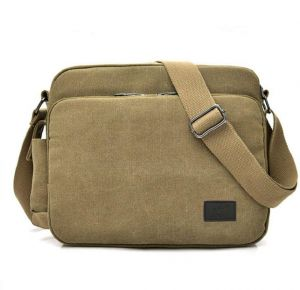 Vintage Multifunction Canvas Shoulder Bag Messenger Bag 3ac78b3528b36