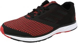 cheap for discount fe37a 29fc4 Adidas Mens Edge Rc Black  Red Ankle-High Running Shoe - 8.5M