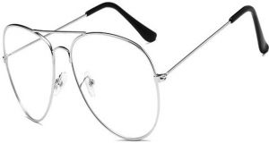 0107449b64c2 Classic plain glasses for men and women with large metal frame glasses  retro toad glasses frame glasses
