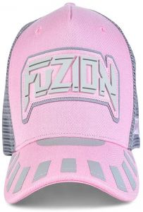 ac74defd60cd5 Fuzion Xtreme Baseball hat Pink-Gray For Women