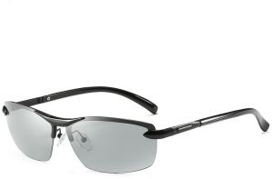 10f1b3130a8f Men s Fast-changing Polarized Sunglasses Day And Night Driving Glasses