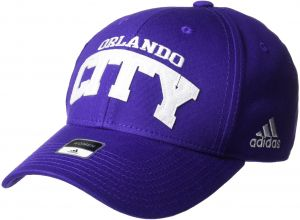 19af9708169 adidas MLS Orlando City SC Women s SP17 Fan Wear Sequenced Structured  Adjustable Cap