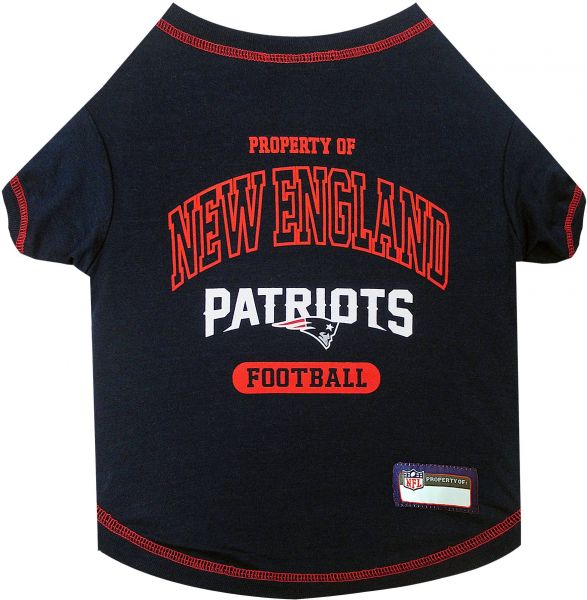 Pets First NFL NEW ENGLAND PATRIOTS Dog T-Shirt 323e6e2ac