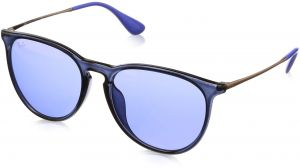 0091ebaaff Ray-Ban Women s Erika (f) Non-Polarized Iridium Aviator Sunglasses