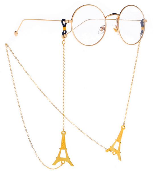 ce720f2383e3 Eyeglass Chain Holder Glasses Strap Eyeglass Chains and Cords for  Women-Eiffel Tower