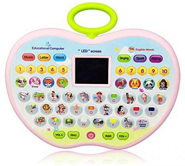 Toys Gift For 4 Year Olds Girl Learning 1 3 Old Boys Baby Kids Tablet 2 Toddlerapple Computer Toy 5 6 Kid Girls