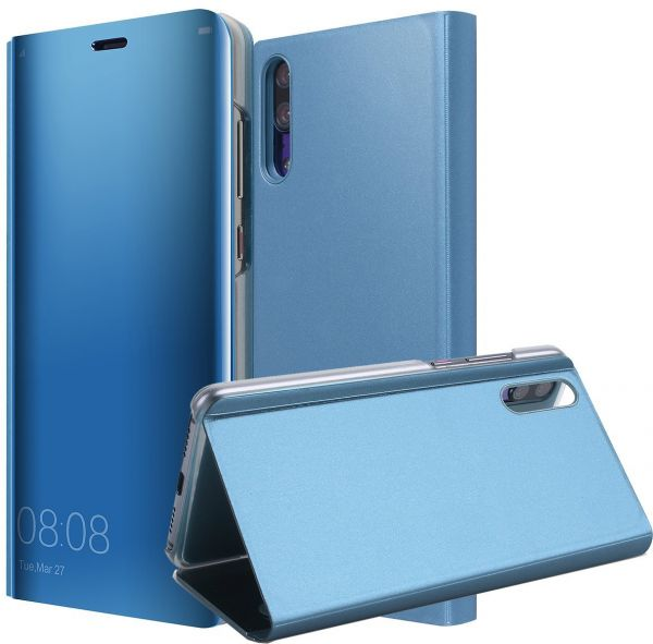 sports shoes 202e7 5599b Huawei P20 Pro Mirror Flip Case Clear View Standing Smart Back Cover ...