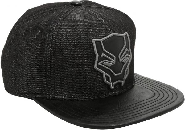 MARVEL Black Panther Logo Baseball   Snapback Hat For Unisex  a0136183f38