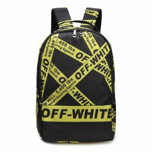930f8a5786ad Off-White Backpack School Bag Fashion Traveling Bags Unisex Teenagers  student Satchel For Girl And Boy