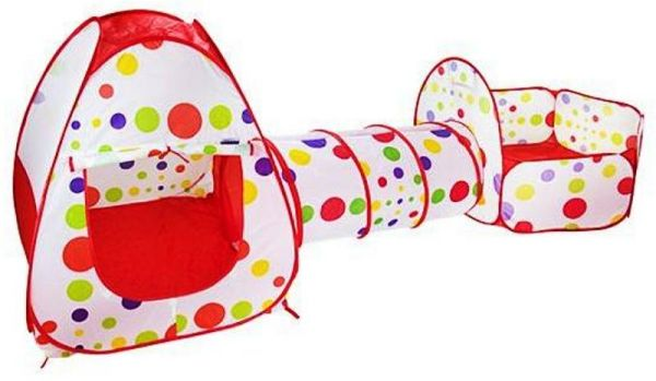 Childrenu0027s Play Tent Tunnel Playground 3-in-1 Pop-up Indoor-Outdoor Tunnel and Play Tent (RED)  sc 1 st  Souq.com & Childrenu0027s Play Tent Tunnel Playground 3-in-1 Pop-up Indoor-Outdoor ...