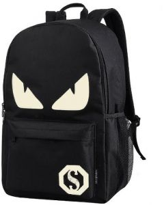 Backpack Anime Luminous Teenagers Men Women s Student Cartoon School Bags  Casual Travel Bag Glow in the Dark Style 2 08bb9d83fe87c