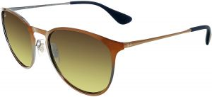 a1d0ff5142 Ray-Ban Gradient RB3539-193 13-54 Orange Oval Sunglasses