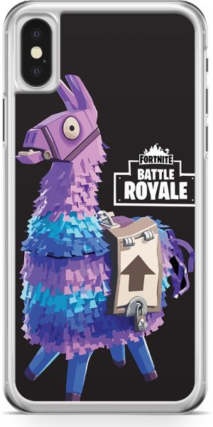 Loud Universe Fortnite Phone Case Unicorn Black Case Phone Case iPhone X  with Transparent edges