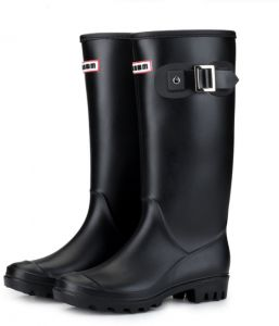 d87f330bbd0a Fashion Rain Boots Waterproof Women s High Tube Boots Buckle Martin Boots  Snow Boots Car Wash Water Shoes Work Fishing Rubber Shoes Soft Comfy Work  Boots