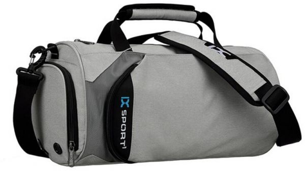 8ab23114649 IX Sports Outdoors Duffle Bag with Shoe Compartment Men s Gym Bags for  Traveling Hiking
