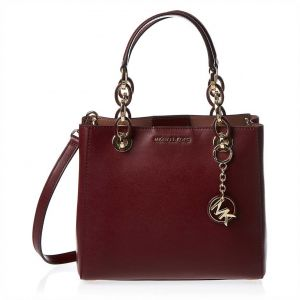 Michael Kors Satchels Bag for Women - Oxblood c002ec19c6808