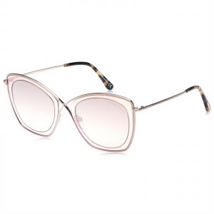 f00a5690697 Tom Ford Butterfly Sunglasses for Women - Brown Lens