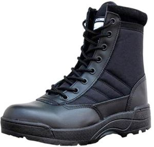 707842586fa96 military shoes hiking shoes men and women desert boots a generation Black  Color