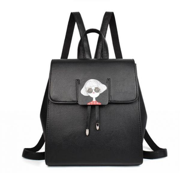 Fashion Women Backpack Youth Leather Backpacks for Teenage Girls Female  School Shoulder Bag  831fd8642d2ae