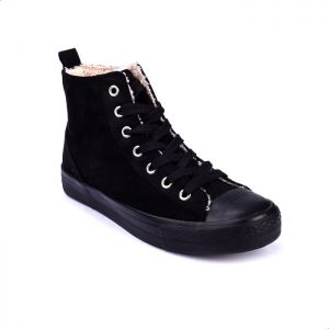 723e60e2e76 Joy   Roy Lace Up Boot Above Ankle For Women - Black