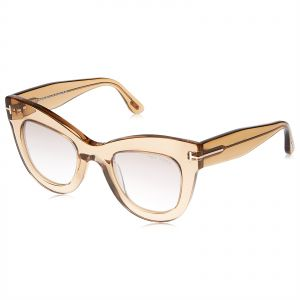 1b422ce95da Tom Ford Cat Eye Sunglasses for Women - Clear Lens