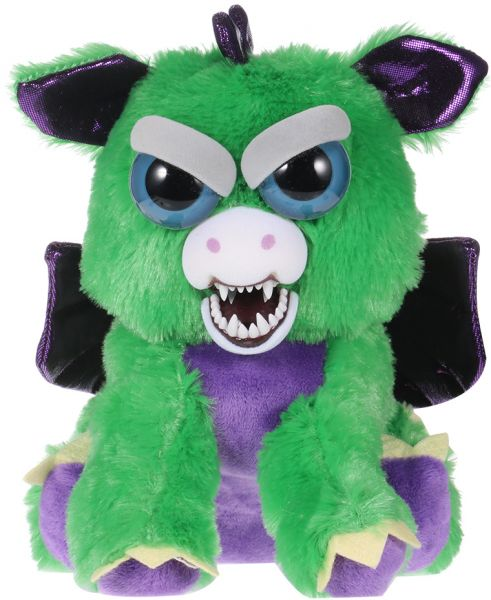 3c770e5cfd1e Feisty Pets Ferdinand Flamefart Feisty Films adorable Plush Stuffed Toy  Dragon Turns Feisty with a Squeeze