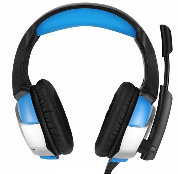 Gaming Headset - Gaming headset for PC, PS4, Xbox One (Adapter Need),  Nintendo Switch (Audio), Stereo Noise-Canceling Gaming Headphones, Dazzling  LED