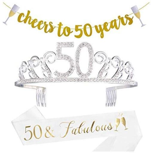 50th Birthday Decorations Party Supplies
