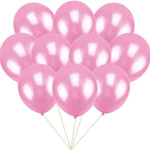 24148c25762 100 ct Pink Balloon 10Inch Latex Helium Balloons for Wedding Birthday Party  Festival Christmas Decorations