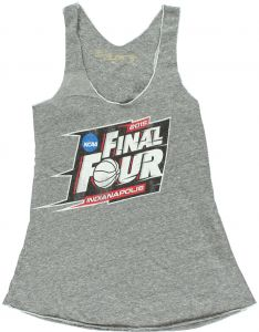 71c668f8d3efe The Victory Womens 2015 Indianapolis Vintage Style Final Four Tank Heather  Grey XL