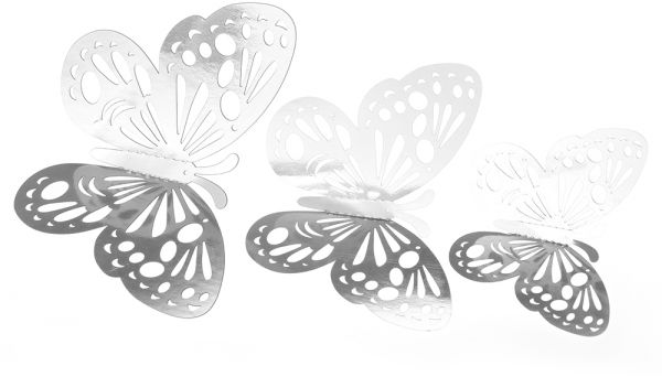 12pcs Set 3d Butterfly Wall Stickers Removable Diy Art Wall Decals