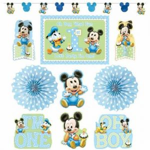 Mickey Mouse 1st Birthday Decorating Kit