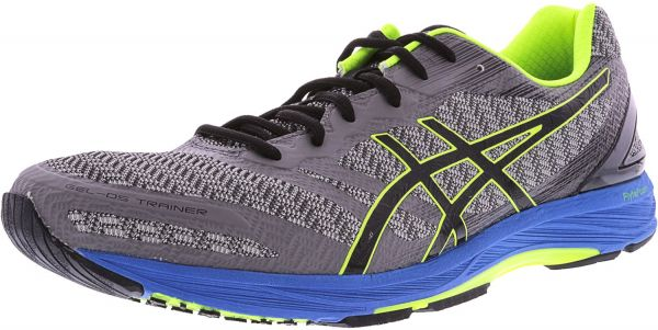 3a9357429b Asics Men's Gel-Ds Trainer 22 Carbon Black Safety Yellow Ankle-High  Training Shoes - 7M