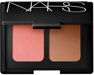 1a58b1ea6589 NARS Limited Edition Blush Bronzer Duo in Orgasm- Peachy Pink Shimmer and  Laguna- Sheer Light Brown- for All Skintones 0. 35 oz 10. 5 grams