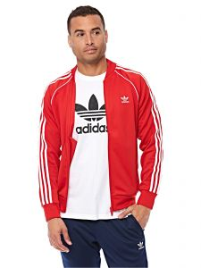 1e216a68432a Adidas Sport Jacket for Men - Collegiate Red