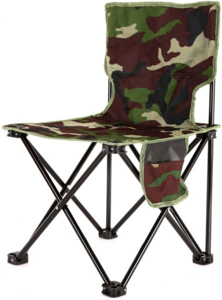 Outdoor Leisure Fishing Folding Chair Small Bench Double Camouflage Canvas Portable L Souq Uae