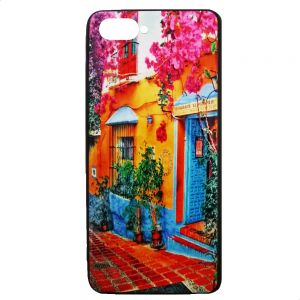 Back Cover For Oppo a3S, Multi Color