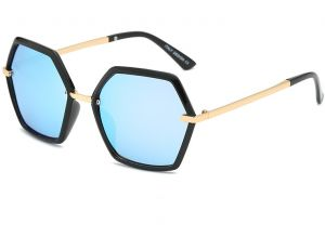 a31a811930a Fashion personality Polygonal Polarized Sunglasses for men and women