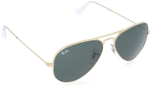 e8b661ca3d Ray-Ban Aviator Frame Unisex Sunglasses - Gold RB3025-W3234-55 ...
