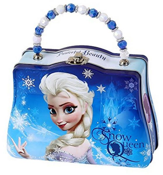 2a68698506 Disney Frozen Scoop carry All Tin Classic Purse with Beaded Handle ...