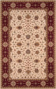 Momeni Rugs Pergapg 08ivy3050 Persian Garden Collection 100 New Zealand Wool Traditional Area Rug 3 X 5 Ivory