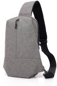 Women s Men One Strap Shouder Canvas Backpack Chest Pack Sling Crossbody Bag  Sports Hiking Cycling Casual Bags 1f57702cc6946